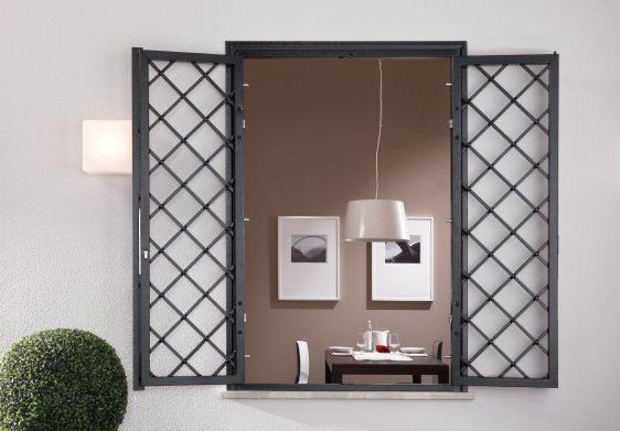 Inferriate metalliche confronta prezzi online habitissimo - Inferriate mobili per finestre ...