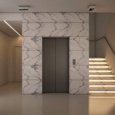 Insonorizzare ascensore quando si ferma ai piani