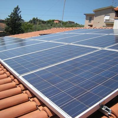 Inclinazione impianto fotovoltaico