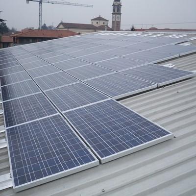 Impianto fotovoltaico e ombra