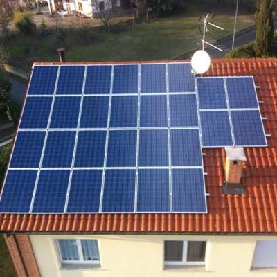Spazio impianto fotovoltaico