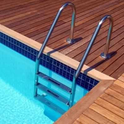 Scaletta per piscina dritta