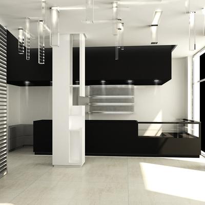 interior designer locale commerciale