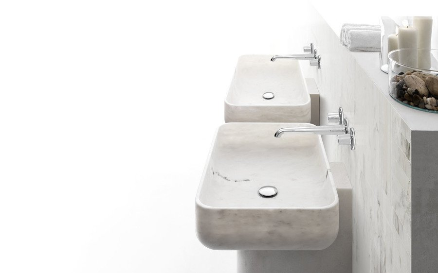 Lavabo bagno in marmo