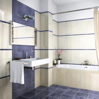 Le righe per valorizzare il bagno