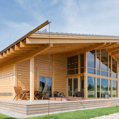 Prezzi e vantaggi di costruzione case legno lamellare - Costo costruzione casa in legno ...