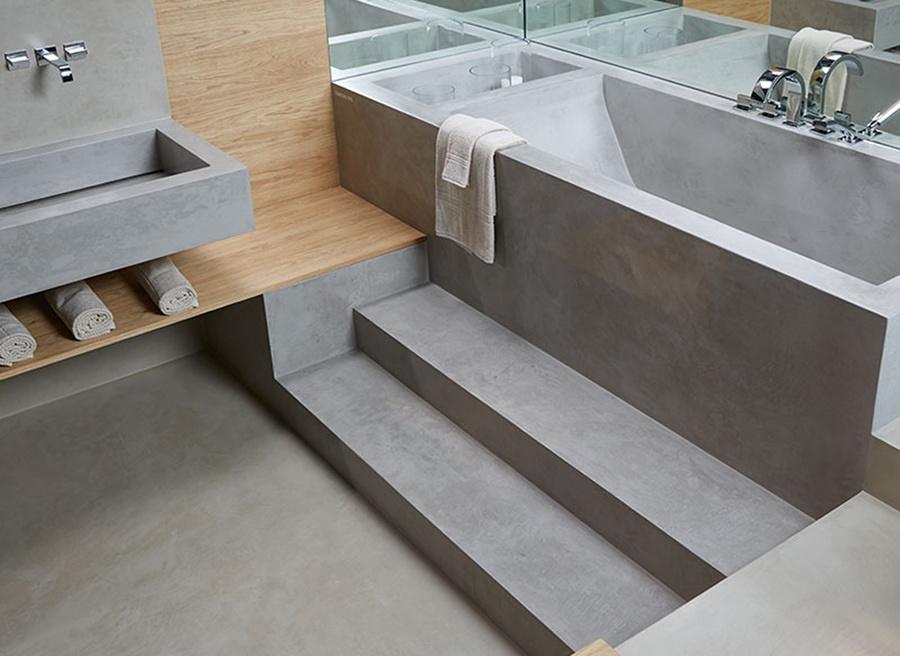 Preventivo cemento resina online habitissimo - Vasca da bagno in cemento ...