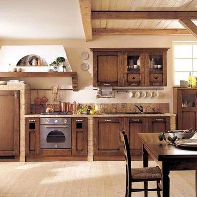 Prezzi online e idee per la scelta dei mobili habitissimo for Arredamento rustico ikea