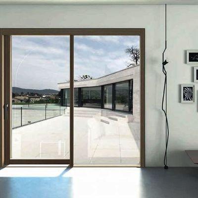 Installare finestre a filo muro caratteristiche e prezzi Finestra grande scorrevole