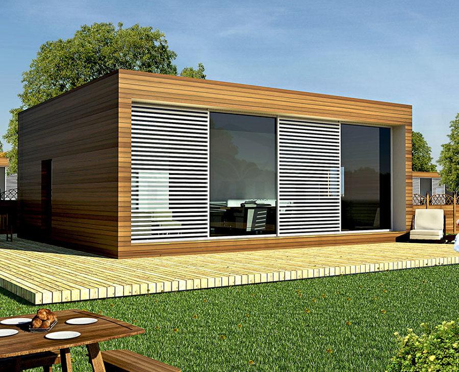 Costi dei prefabbricati modulari uso ufficio o palestra for Case moderne interni legno