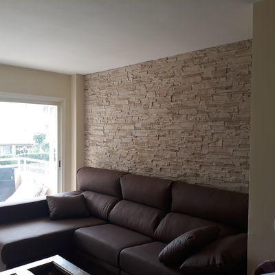 Muri interni in pietra