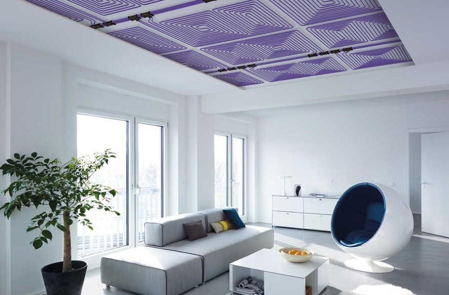 Riscaldamento a soffitto funzionamento pro e costi habitissimo - Riscaldamento pannelli radianti a parete ...