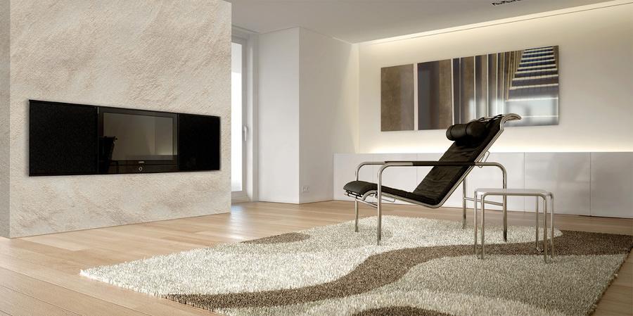 Imbiancare appartamento con effetto sabbia