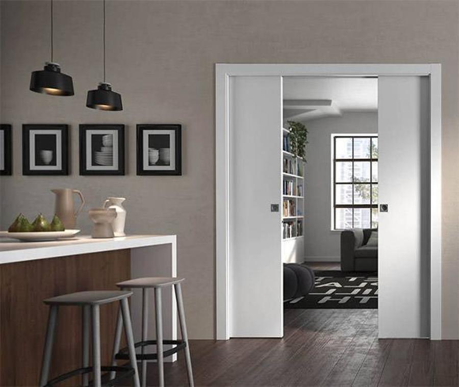 Parete In Cartongesso Con Porta A Scomparsa : Preventivo parete cartongesso con porta online habitissimo