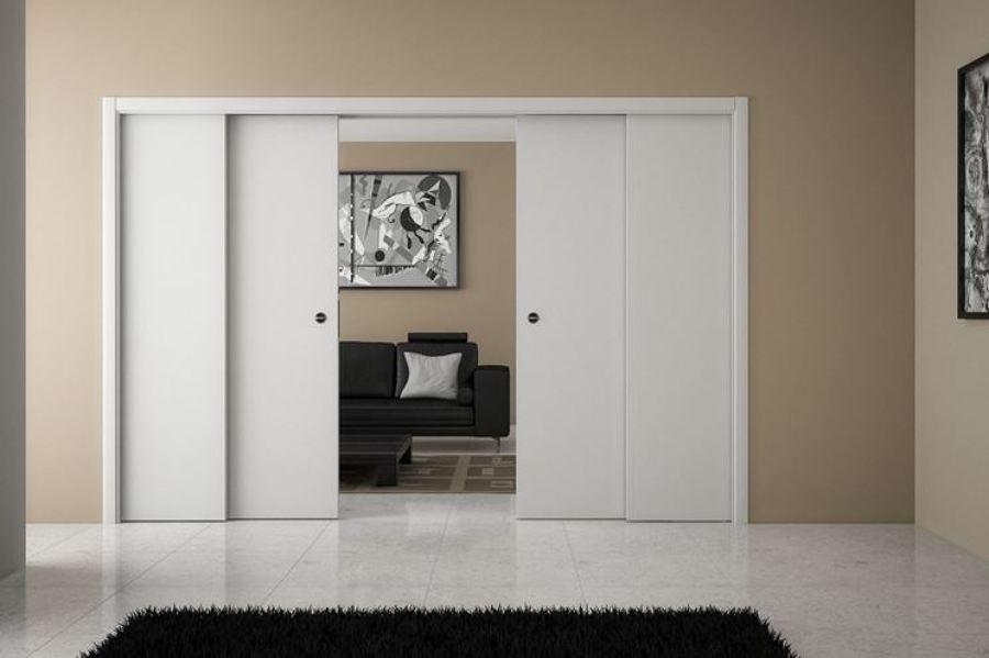 Preventivo parete cartongesso con porta online habitissimo - Porta parete cartongesso ...