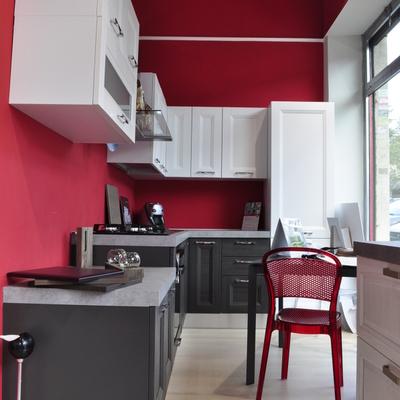 Dipingere le pareti rosse