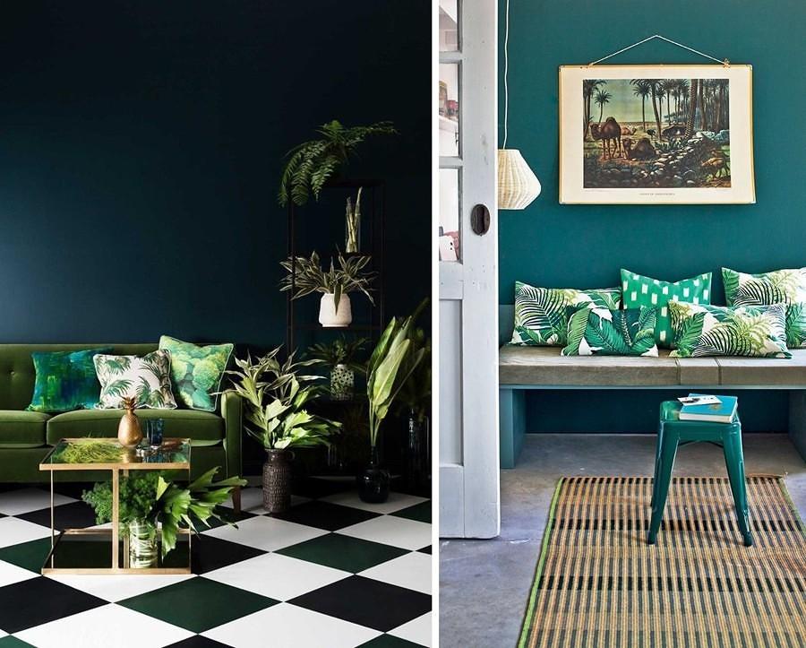 Preventivo dipingere pareti online habitissimo - Pareti verdi per interni ...