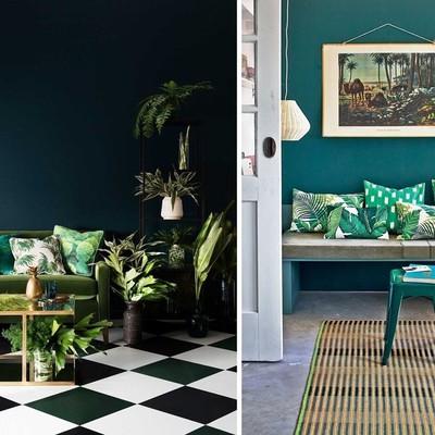 Dipingere le pareti verde menta