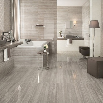 Pavimenti grès porcellanato: effetto marmo
