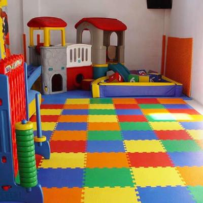Pavimento in gomma per la sicurezza dei bambini