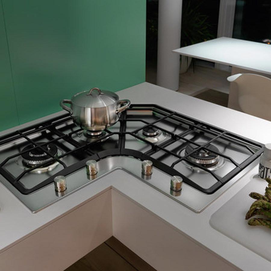 Rinnovare la cucina trucchi e prezzi habitissimo - Cucina con piano cottura ad angolo ...