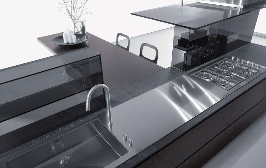 Piano Lavoro Cucina Acciaio - Design Per La Casa Moderna - Lonslight.com