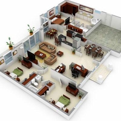 Preventivo piantina casa online habitissimo for Creare piantina casa online
