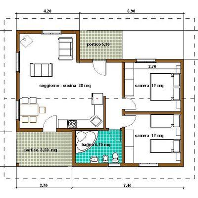 Preventivo piantina casa online habitissimo for Planimetria online gratis