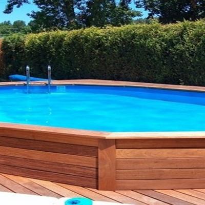 Installazione piscina prefabbricata costi e info - Piscina fuori terra in pendenza ...