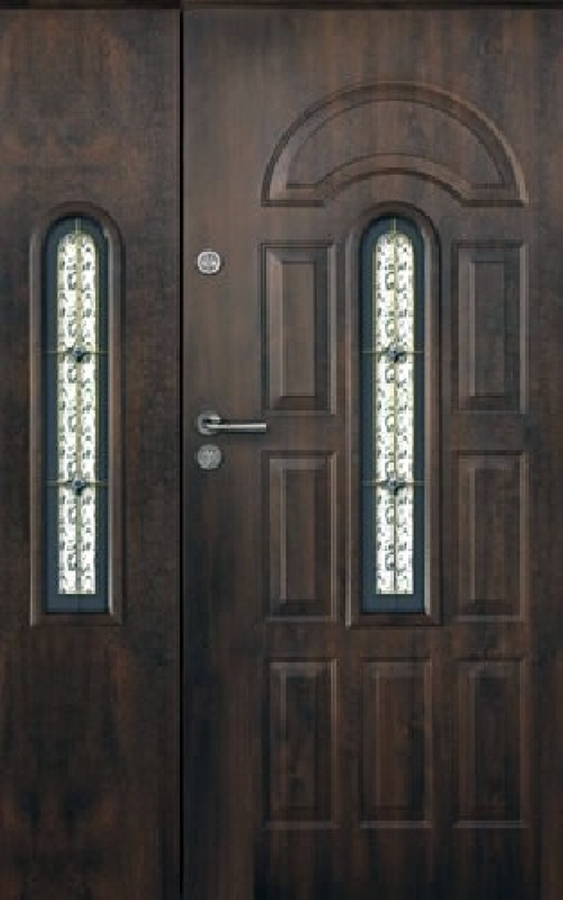 Porta blindata in legno