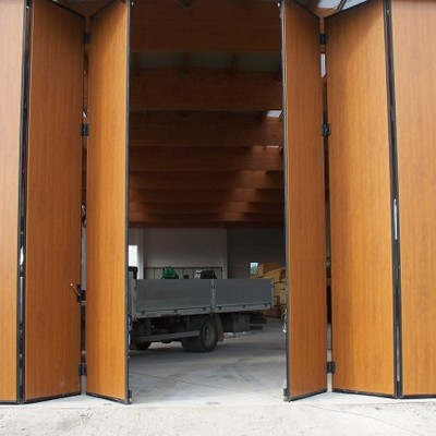 Porta Garage a Soffietto
