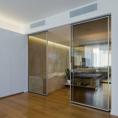 Porta interna in vetro temperato