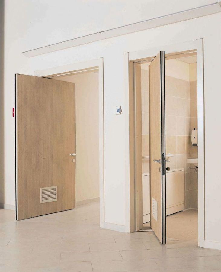 Porta rototraslante in alluminio