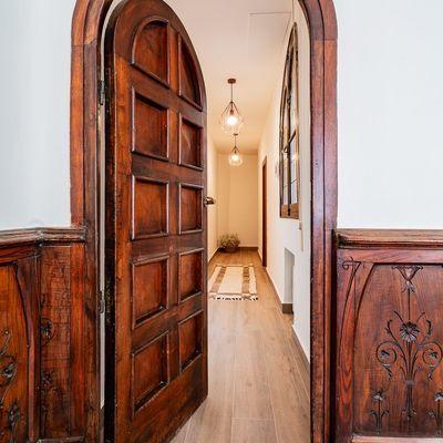Porte in legno di rovere