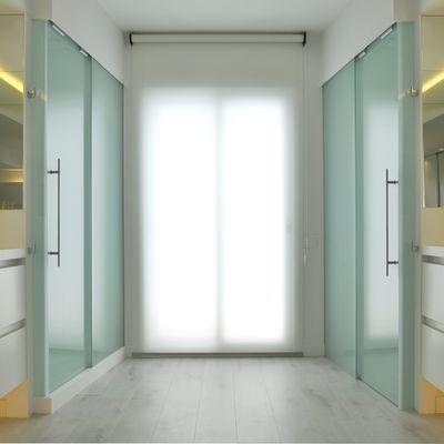 Porte interne in vetro tagliafuoco
