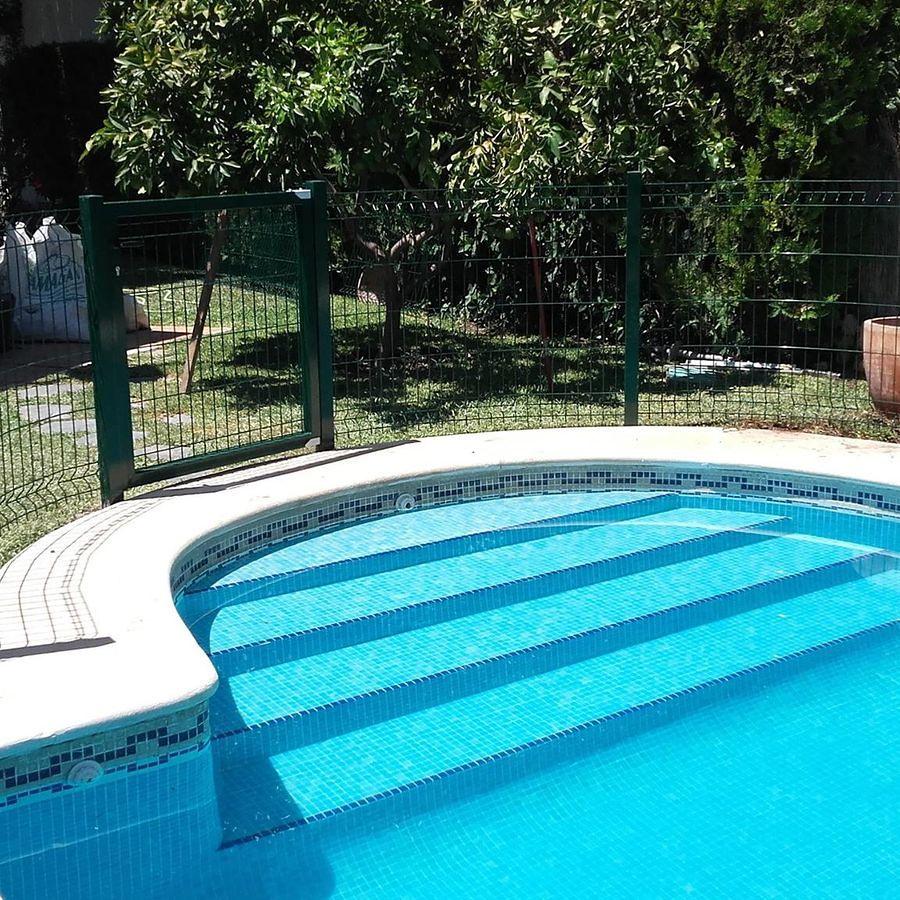 Recinzione piscina fissa