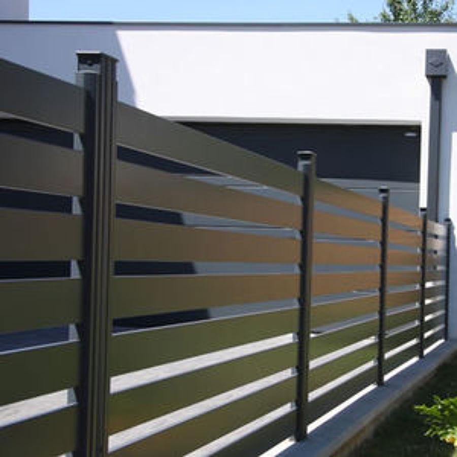 Ringhiere e recinzioni in alluminio costi e vantaggi for Immagini recinzioni