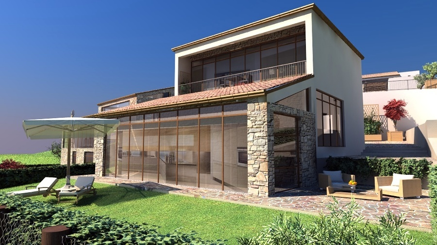 Intonaco Esterno Moderno : Esterno casa beautiful esterno casa with esterno casa free