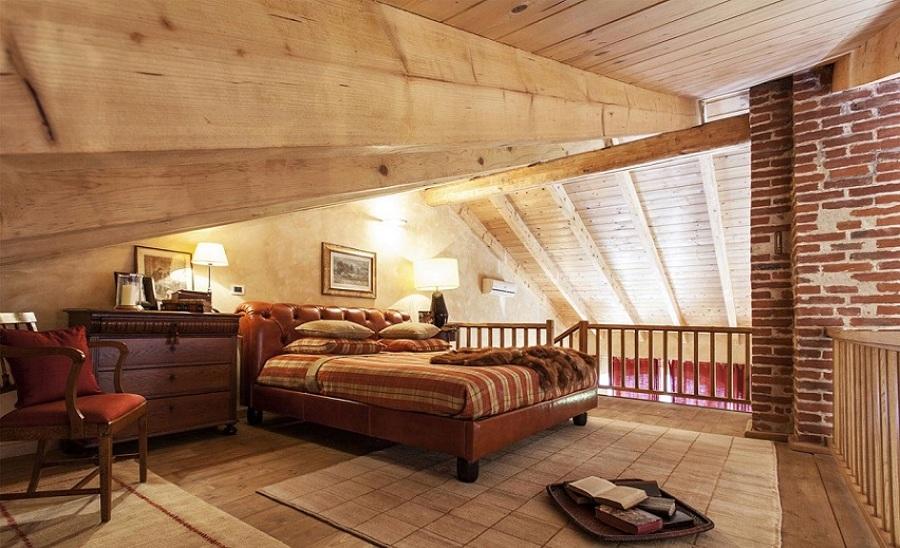 Costi e consigli per la ristrutturazione di un fienile - Camera da letto soppalco ...