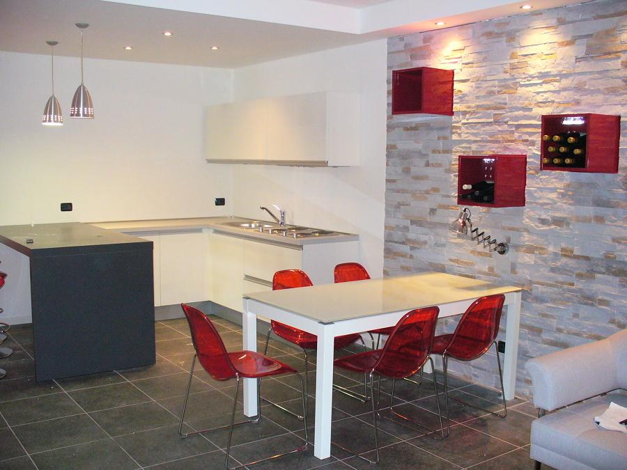 Beautiful taverna con cucina with cucina taverna - Cucine per tavernette ...