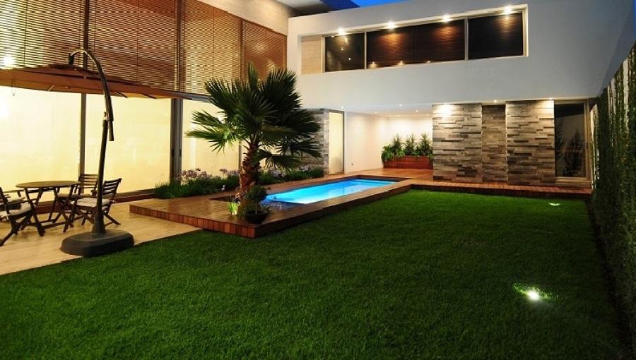 Il giardino e le ristrutture esterne