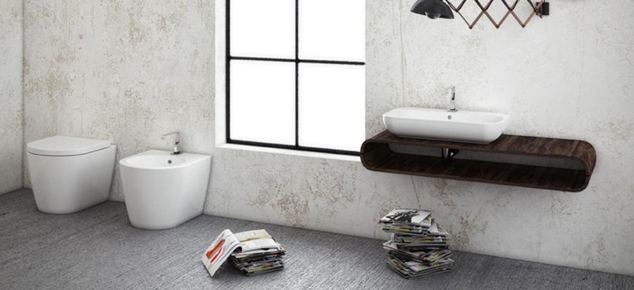 Idee e costi per la ristrutturazione integrale del bagno - Sanitari bagno filo muro ...