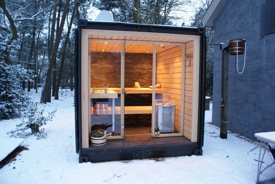 Come costruire una sauna in legno costi e consigli for Costruire una sauna