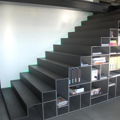 Consigli e idee per scegliere le scale per soppalchi for Scala per libreria