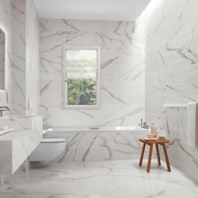 Lussuose e moderne: piastrelle in gres effetto marmo