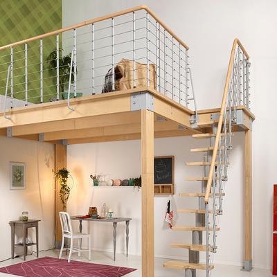 Soppalchi in legno per abitazioni prezzi come realizzare - Soppalco in legno autoportante ...