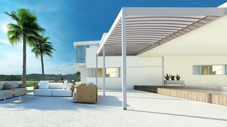 Guida e prezzi delle tende da sole per la terrazza for 3 costo del garage per metro quadrato