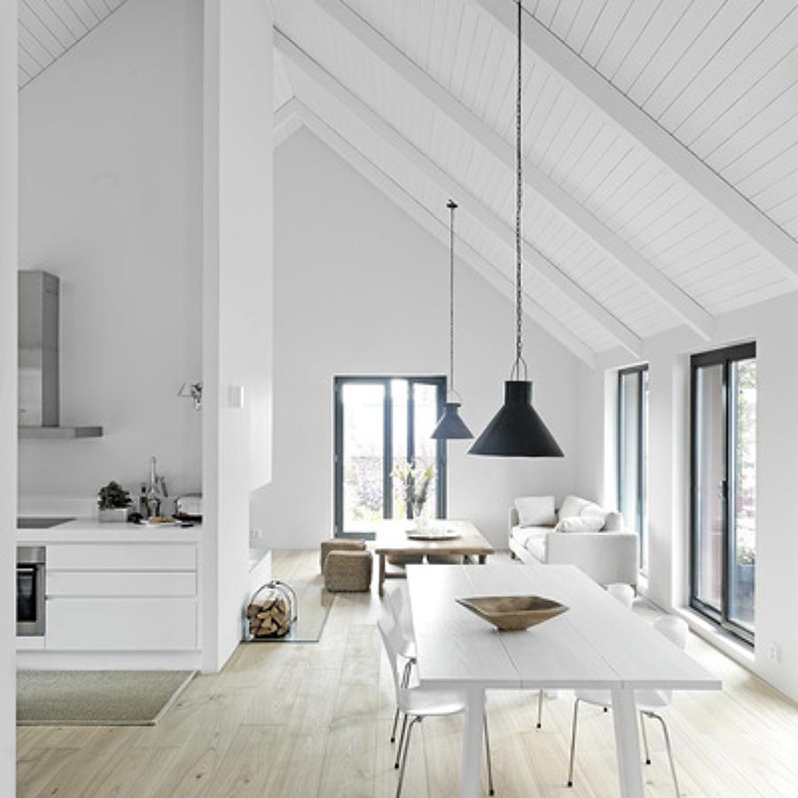 Prezzi e tipologie di tetti in legno habitissimo - Legno sbiancato tetto ...