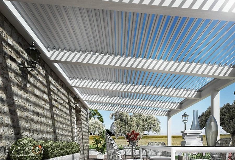 Preventivi per una copertura di terrazzo in legno - Tettoie a lamelle orientabili prezzi ...