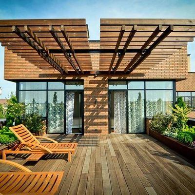 Preventivi per una copertura di terrazzo in legno habitissimo - Mobile terrazzo legno ...